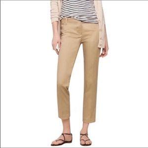 J. Crew Camel Brown Skimmer City Fit Pants